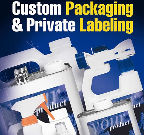 Custom Packaging and Private Labeling