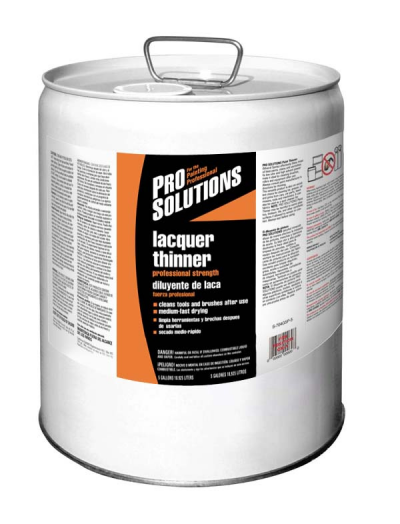 Pro Solutions Lacquer Thinner 5 Gallon
