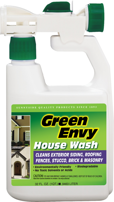 exterior siding cleaning products green envy house wash quart