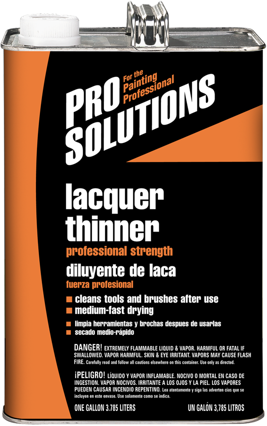 PRO SOLUTIONS LACQUER THINNER Product Image