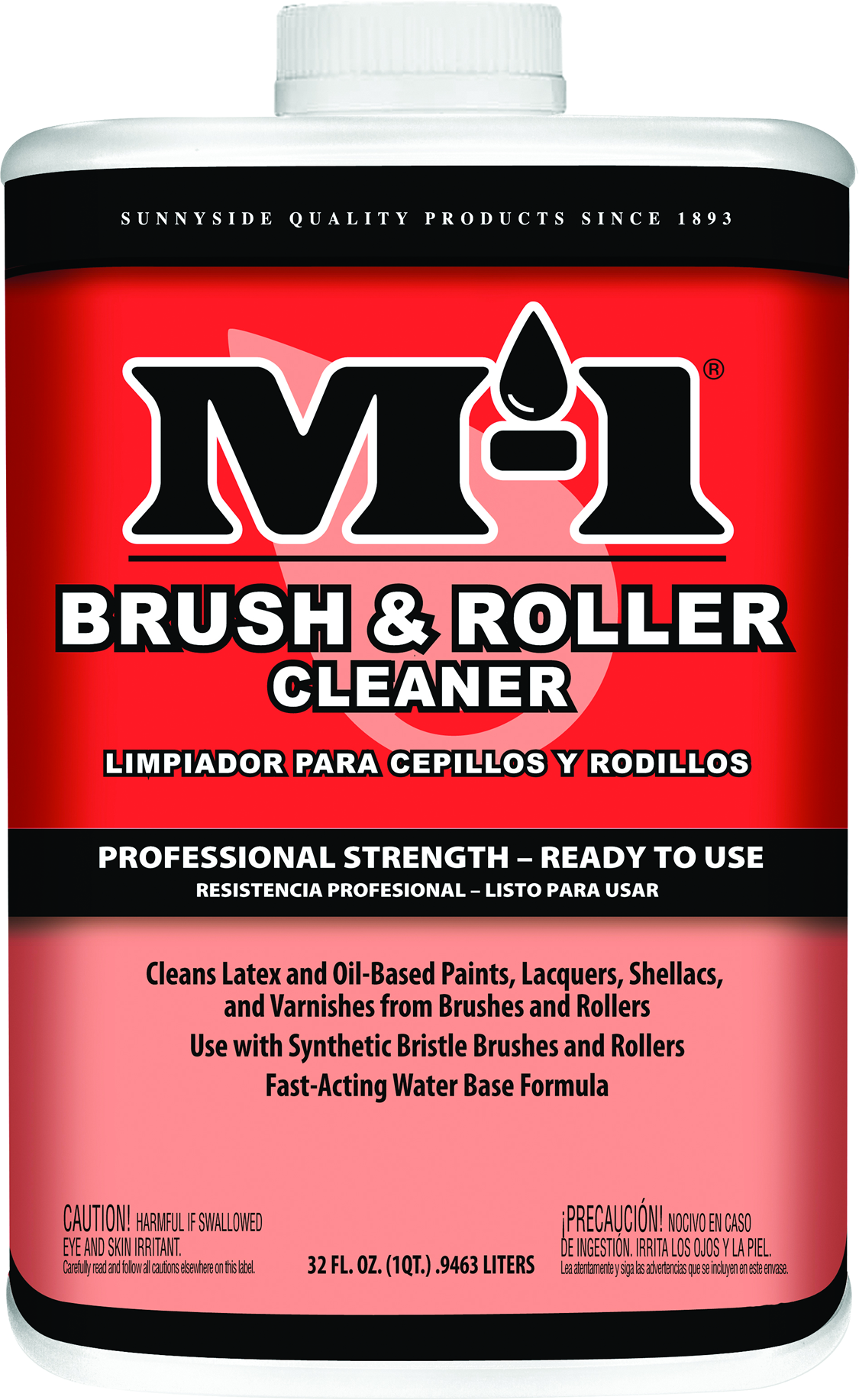 M-1 BRUSH & ROLLER CLEANER READY TO USE Product Image