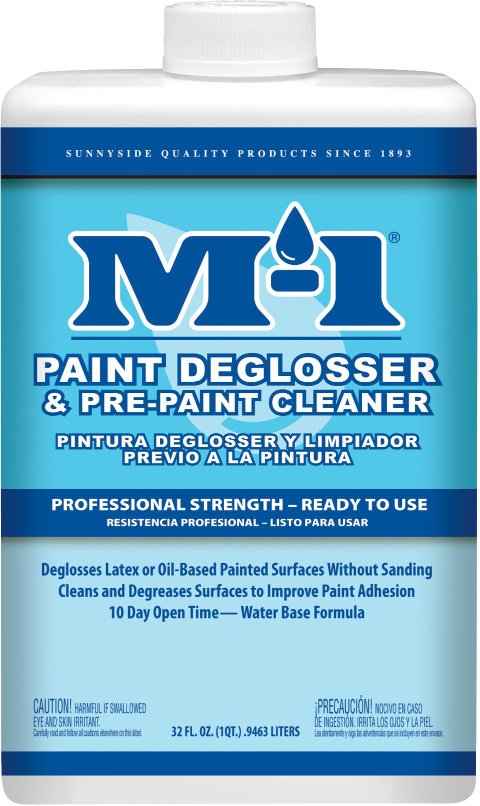 M-1 PAINT DEGLOSSER & PRE-PAINT CLEANER