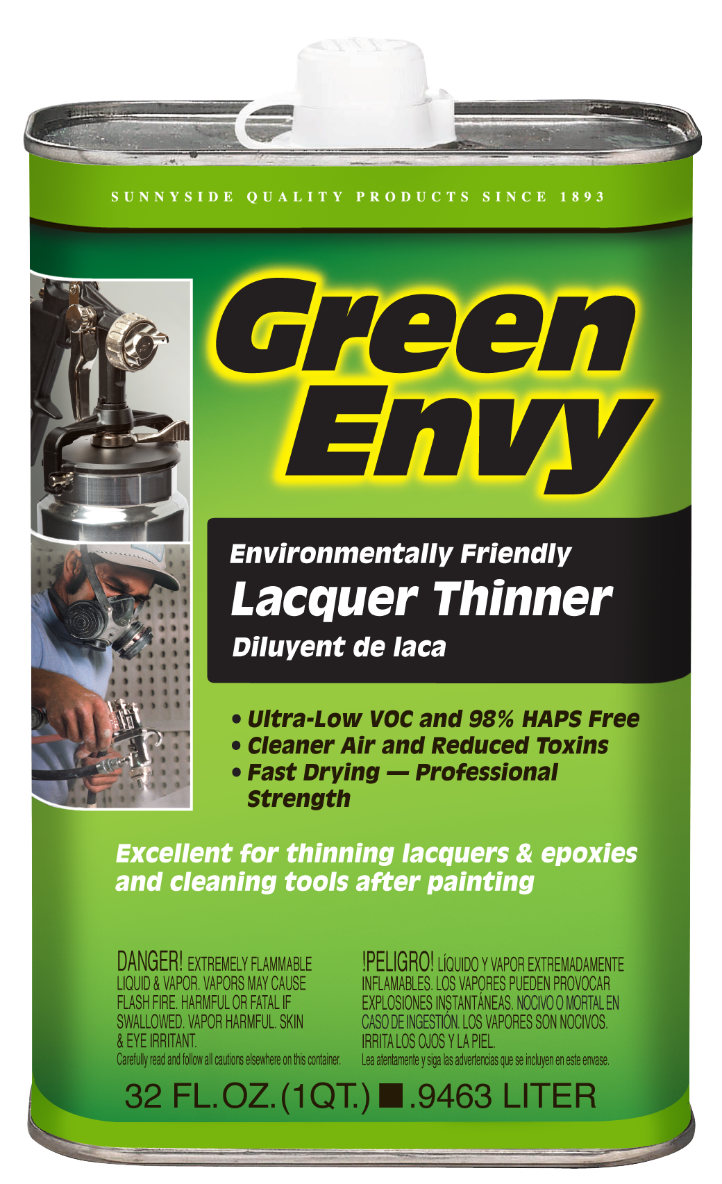GREEN ENVY LACQUER THINNER Product Image