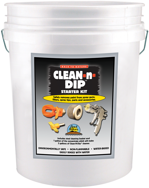 BACK TO NATURE CLEAN N DIP 5 GALLON KIT Product Image