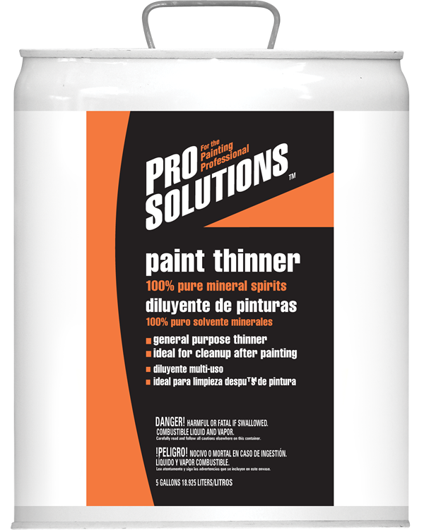 PRO SOLUTIONS PAINT THINNER Product Image