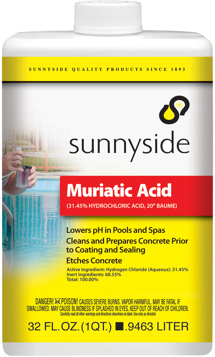 Muriatic acid - How to use muriatic acid in swimming pools ...