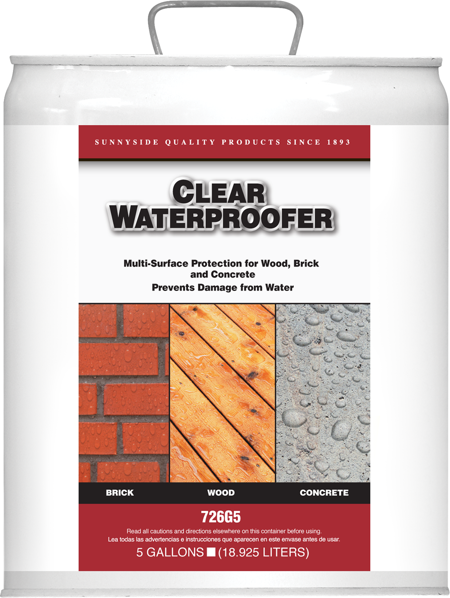 CLEAR WATER PROOFER Product Image