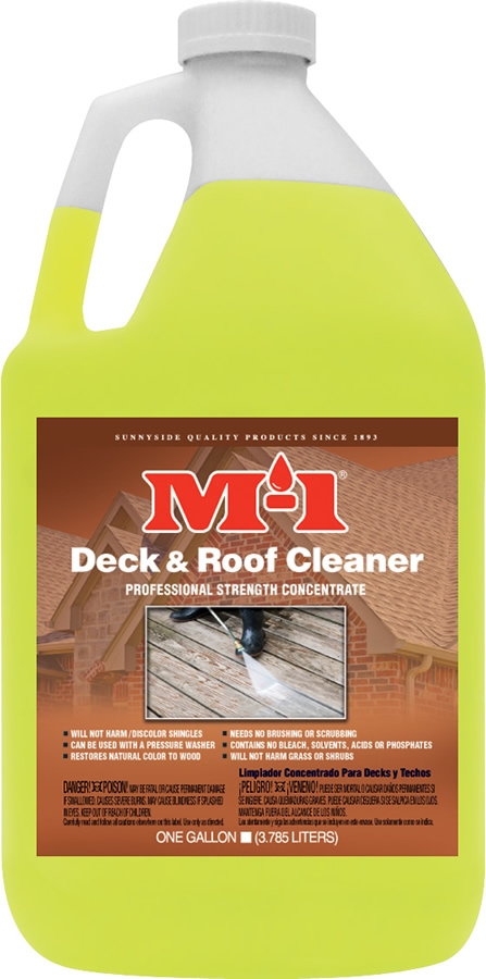 M-1 DECK & ROOF CLEANER Product Image
