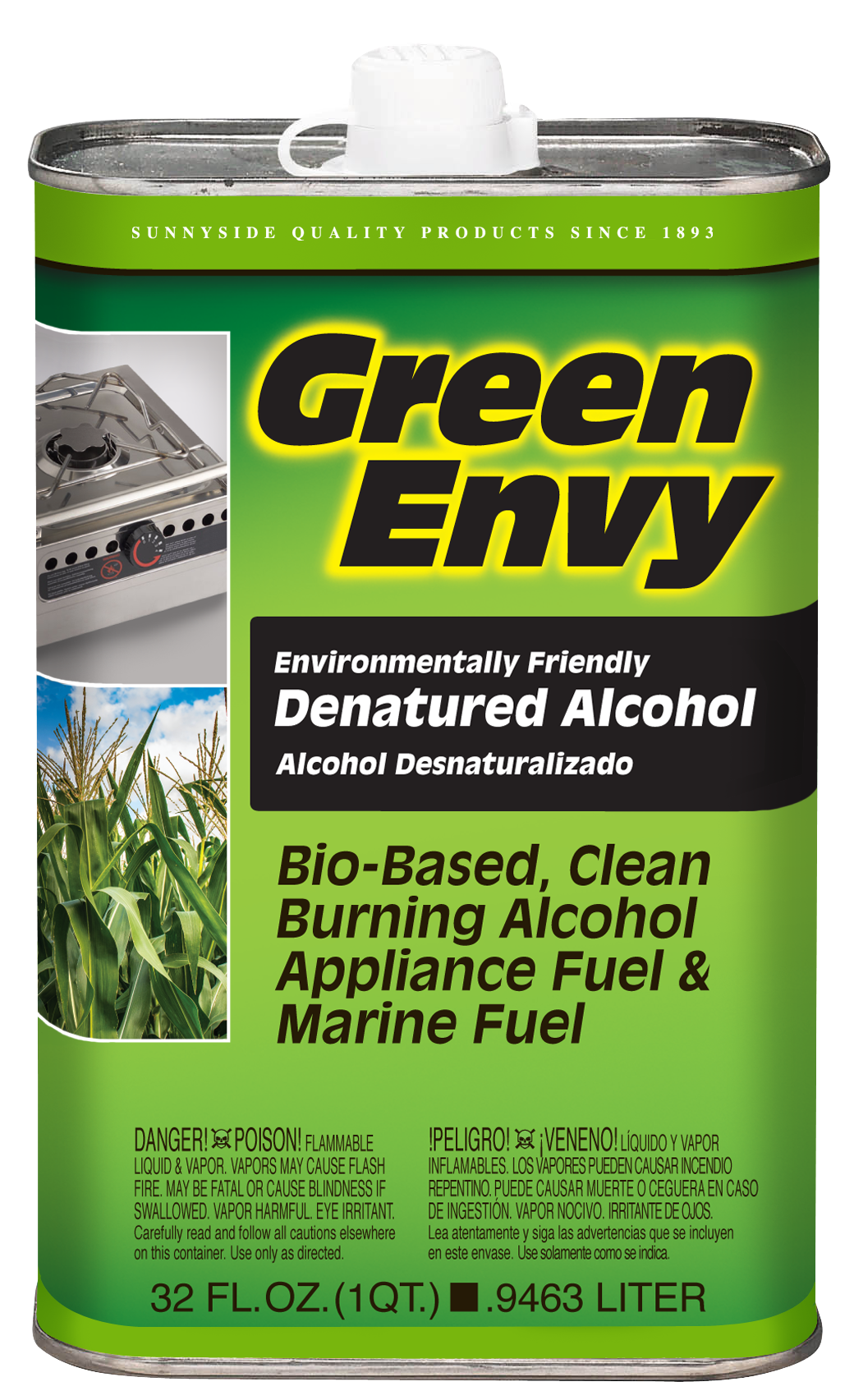 GREEN ENVY DENATURED ALCOHOL Product Image