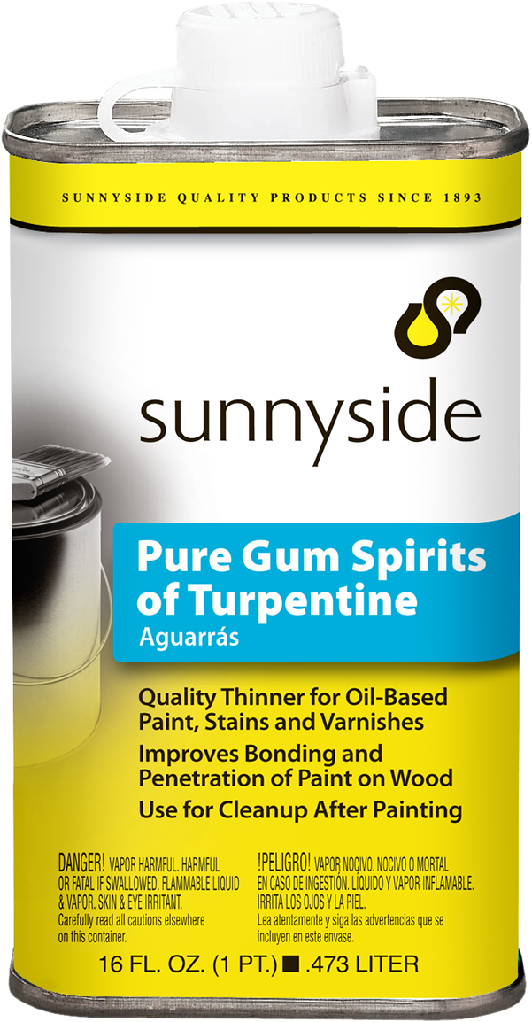 PURE GUM SPIRITS OF TURPENTINE Product Image