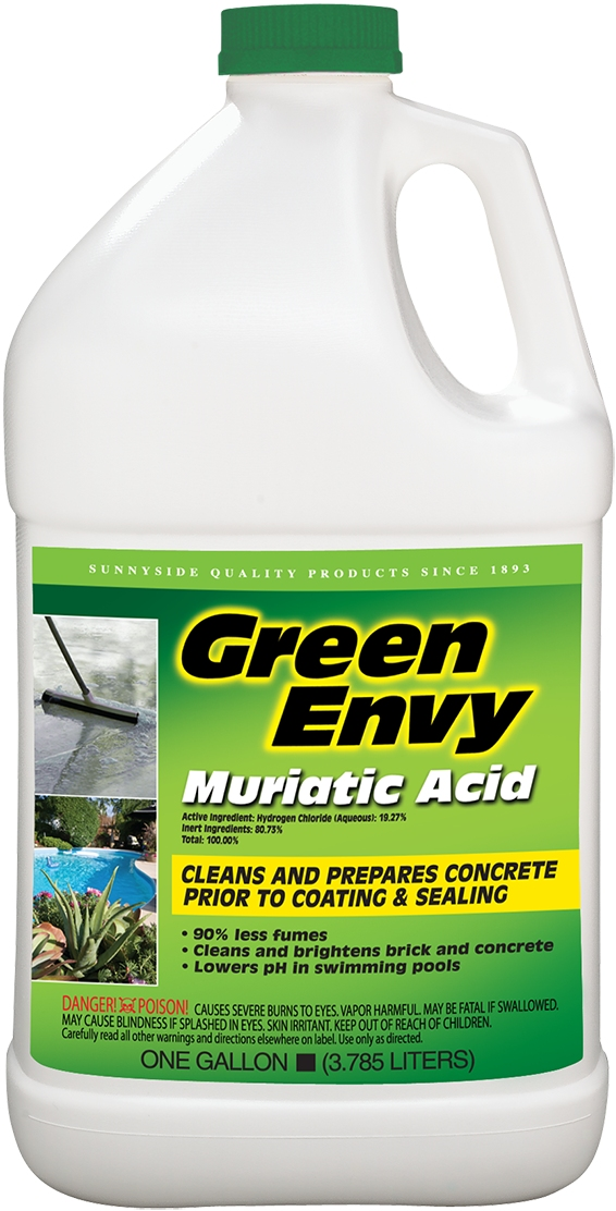 Green envy muriatic acid gallon - How to use muriatic acid in swimming pools ...