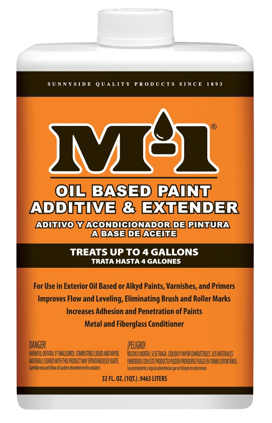 M 1 Oil Based Paint Additive Extender