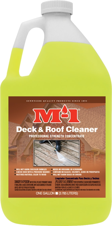 M 1 Deck Amp Roof Cleaner Gallon