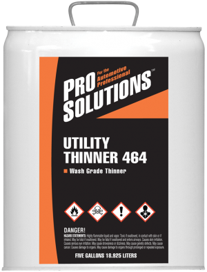 Utility Thinner 464 - Wash Grade Thinner