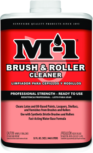 M-1 BRUSH & ROLLER CLEANER READY TO USE