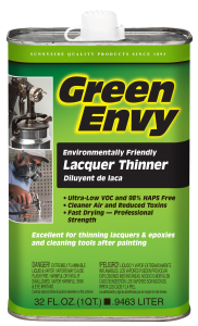 GREEN ENVY LACQUER THINNER