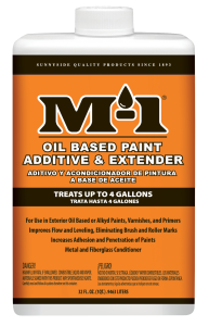 M-1 OIL BASED PAINT ADDITIVE & EXTENDER