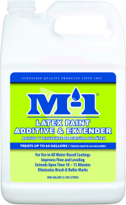 M-1 LATEX PAINT ADDITIVE & EXTENDER