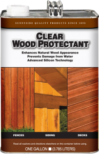 CLEAR WOOD PROTECTANT