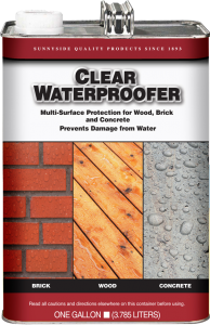 CLEAR WATER PROOFER