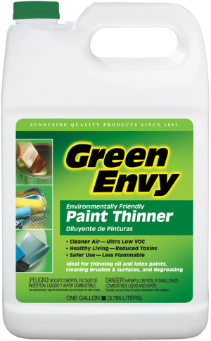 GREEN ENVY PAINT THINNER - CARB / SCAQMD