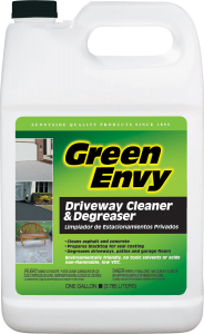 GREEN ENVY DRIVEWAY CLEANER