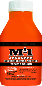 M-1 ADVANCED INSECTICIDE 1G PAINT ADDITIVE