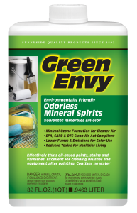 GREEN ENVY ODORLESS MINERAL SPIRITS