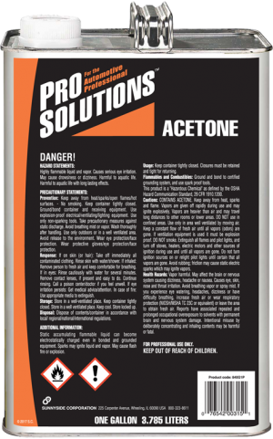 PRO SOLUTIONS ACETONE