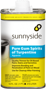PURE GUM SPIRITS OF TURPENTINE